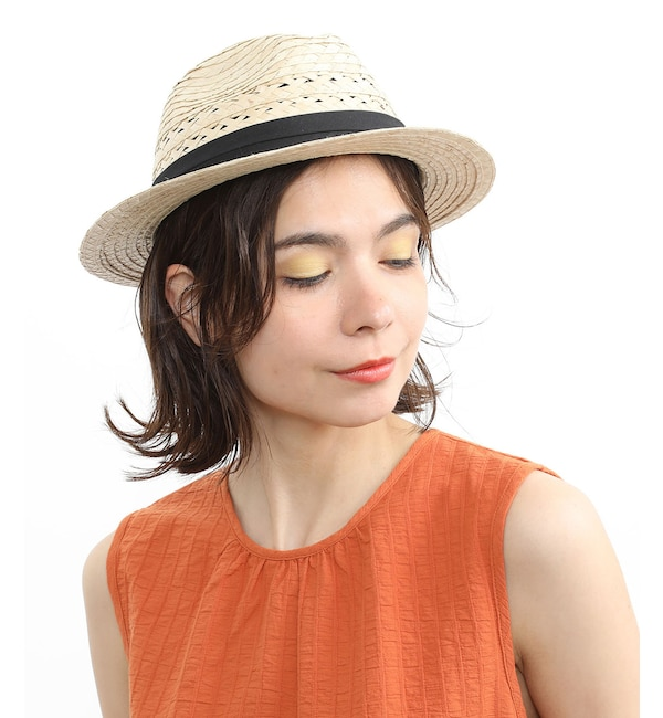 【アダム エ ロペ ル マガザン/Adam et Rope Le Magasin】 BURI CROSS HAT