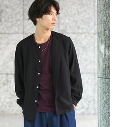 【ジュンレッド/JUNRed】 ソフトドレープノーカラーシャツ [送料無料]