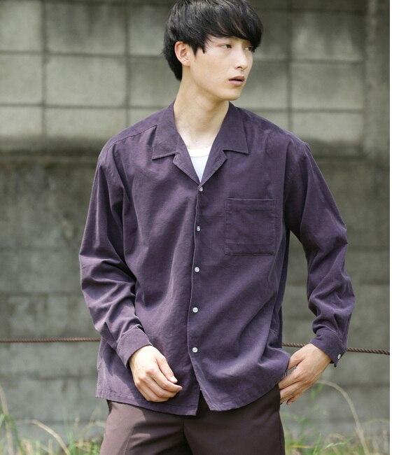 【ジュンレッド/JUNRed】 コールオープンカラーシャツ