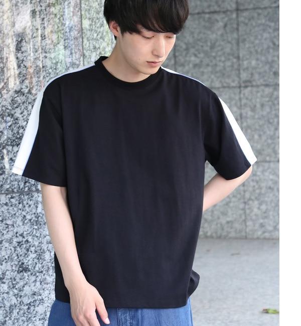 【ジュンレッド/JUNRed】 スリーブラインTシャツ