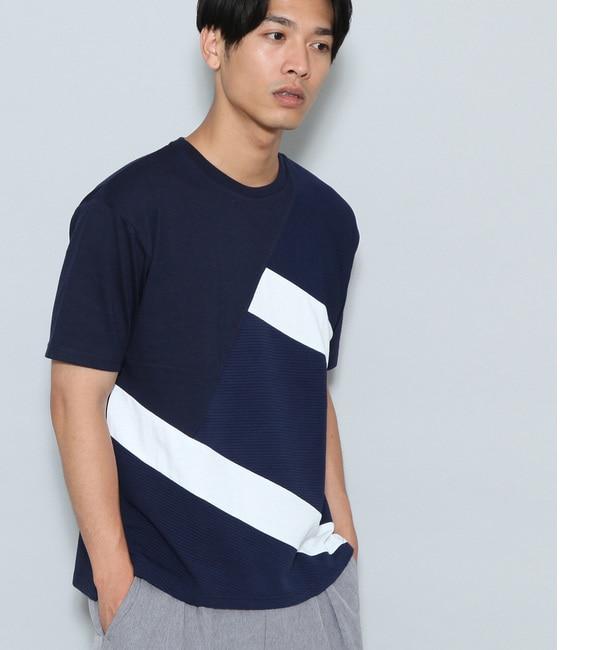 【ジュンレッド/JUNRed】 タッククレイジー切替Tシャツ