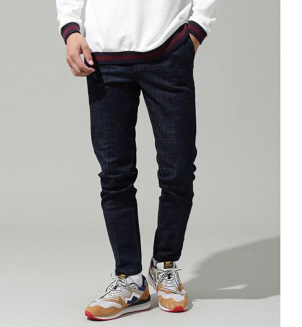 【ジュンレッド/JUNRed】 【39 Pants】イージーテーパードデニムパンツ