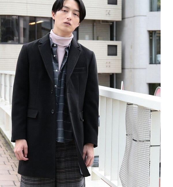 【ジュンレッド/JUNRed】 【暖かく軽く】ウォームクロスチェスターコート