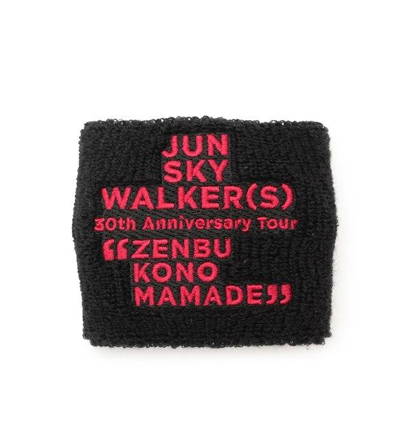 【ジュンレッド/JUNRed】 【JUN SKY WALKER(S)×JUNRed】リストバンド