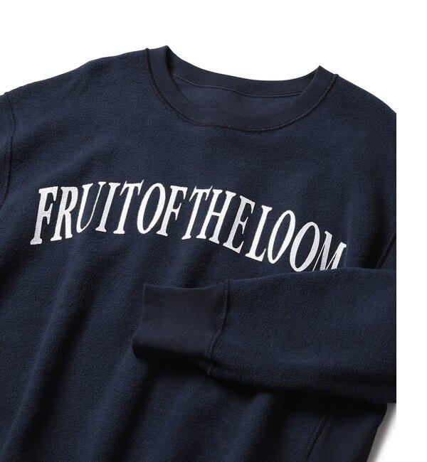 【ジュンレッド/JUNRed】 【FRUIT OF THE LOOM】別注 リバーシブルスウェット