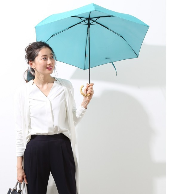 【ロペ/ROPE】 【WEB限定】【雨傘】折りたたみバンブーアンブレラ [送料無料]