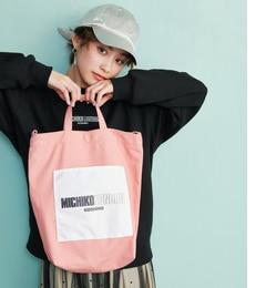 【ビス/ViS】 【MICHIKO LONDON KOSHINO×ViS】【2WAY】トートバッグ [送料無料]