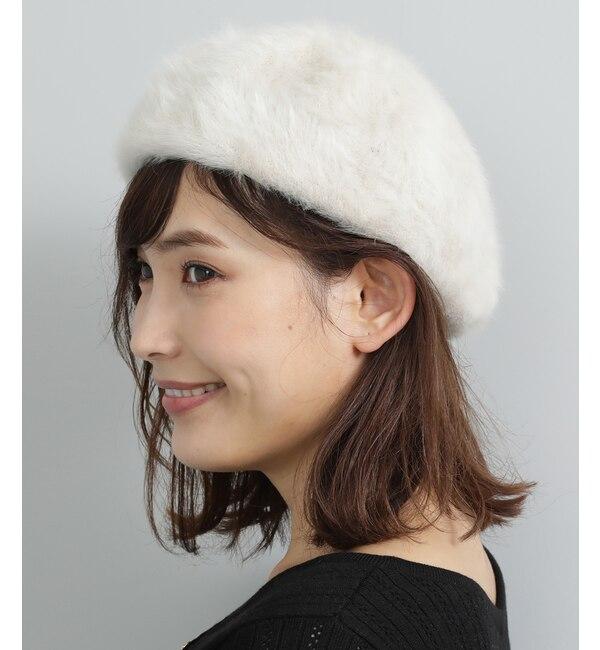 【ビス/ViS】 アンゴラベレー帽