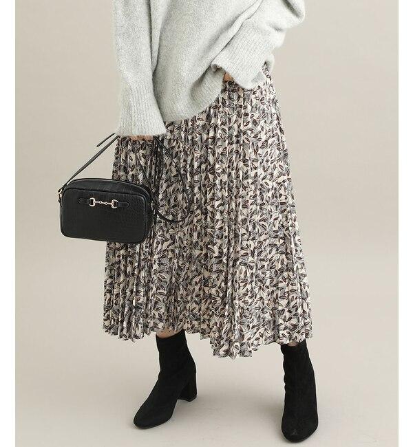 【ビス/ViS】 【ViS meets泉里香】プリントアコーディオンプリーツスカート