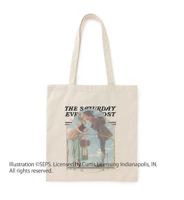 【ビス/ViS】 【A4対応】【THE SATURDAY EVENING POST】コラボトートバッグ