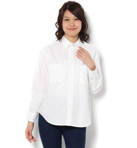 【ロペピクニック/ROPE' PICNIC】 イージーケアレギュラーシャツ [送料無料]