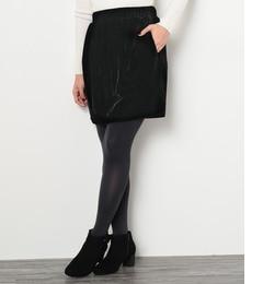 【ロペピクニック/ROPE' PICNIC】 ベロアウエストゴムダイケイスカート [3000円(税込)以上で送料無料]