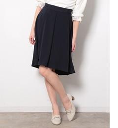 【ロペピクニック/ROPE' PICNIC】 ウエストゴムイレギュラーヘムフレアースカート [送料無料]