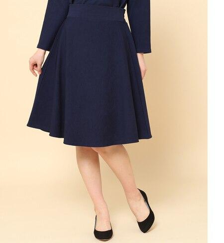 <アイルミネ> 【セットアップ対応】リップルフレアースカート [送料無料]