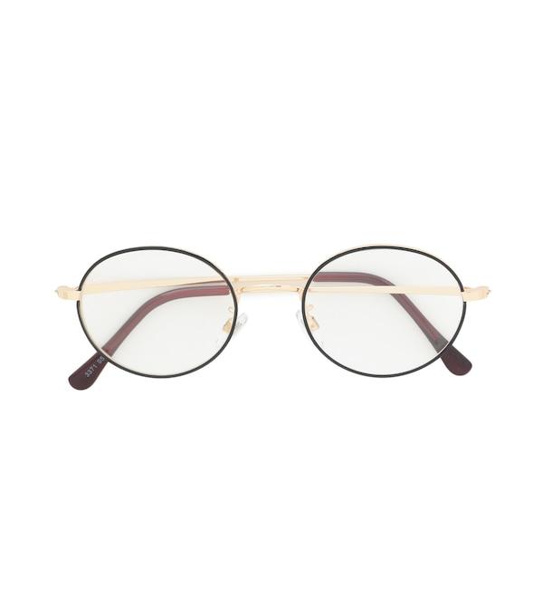 人気ファッションメンズ|【ロペピクニック/ROPE' PICNIC】 オーバルスリムフレーム眼鏡