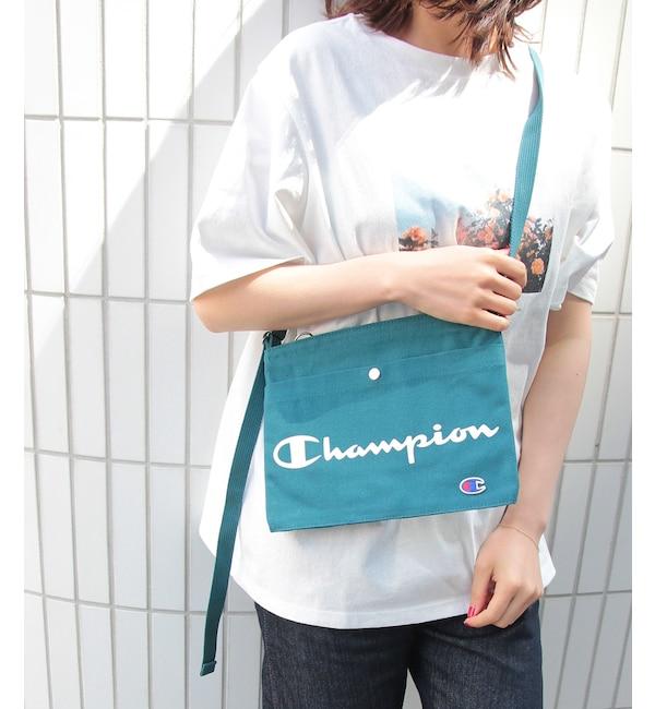 【ロペピクニック/ROPE' PICNIC】 【Champion】ハンプサコッシュ