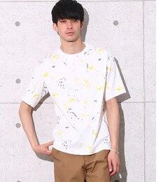 【アダムエロペ/ADAMETROPE'】STREMLINEPAINTINGTシャツ[送料無料]