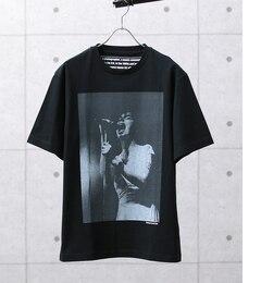 【アダムエロペ/ADAMETROPE'】KENJI.KUBOフォトプリントTシャツ[送料無料]