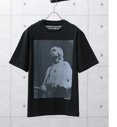 【アダム エ ロペ/ADAM ET ROPE'】 KENJI.KUBO フォトプリントTシャツ [送料無料]