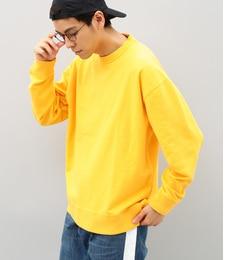 【アダム エ ロペ/ADAM ET ROPE'】 インレイ硫化染めロングスリーブTシャツ [送料無料]