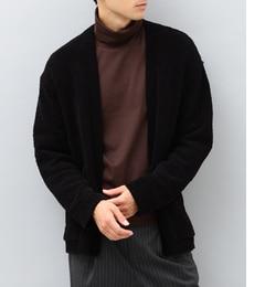 【アダム エ ロペ/ADAM ET ROPE'】 コットンモールラップカーディガン [送料無料]