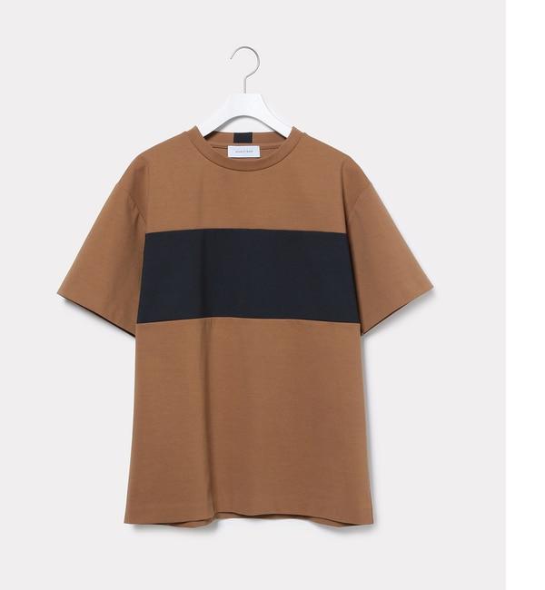 【アダム エ ロペ/ADAM ET ROPE'】 ポンチラインTシャツ [送料無料]