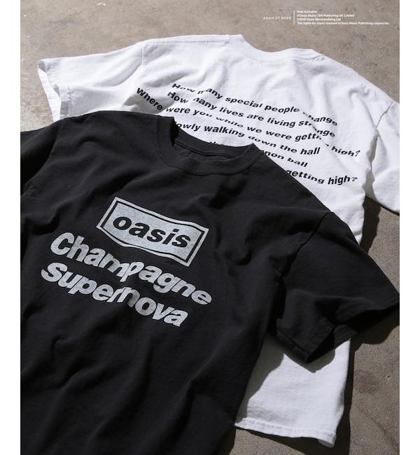 【アダム エ ロペ/ADAM ET ROPE'】 SONG LYRICS T-shirt(size:M,L,LL)