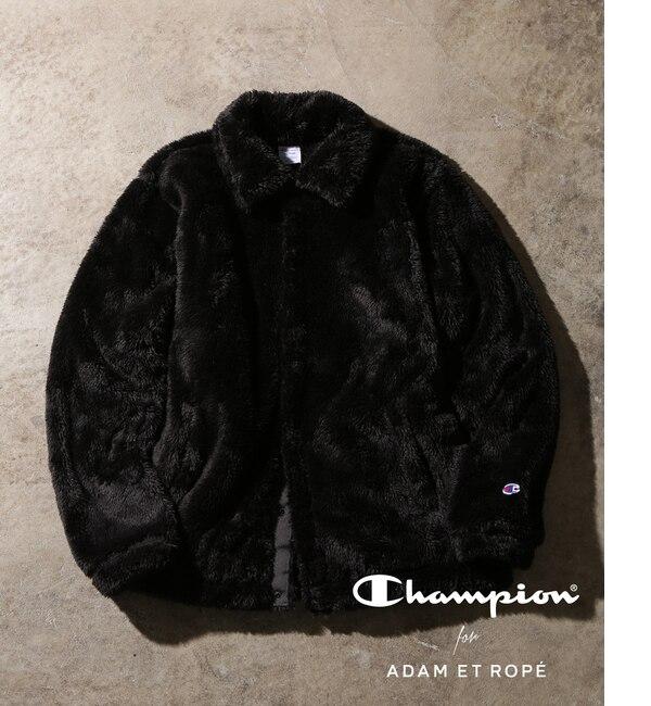【アダム エ ロペ/ADAM ET ROPE'】 【Champion 別注】Sherpa Fleece Boa Coach Jacket