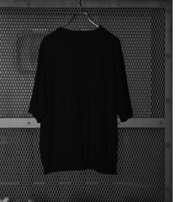 【アダム エ ロペ/ADAM ET ROPE'】 アメリカンコットン スウェット半袖Tシャツ