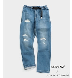 【GRAMICCI】別注 DAMAGED DENIM