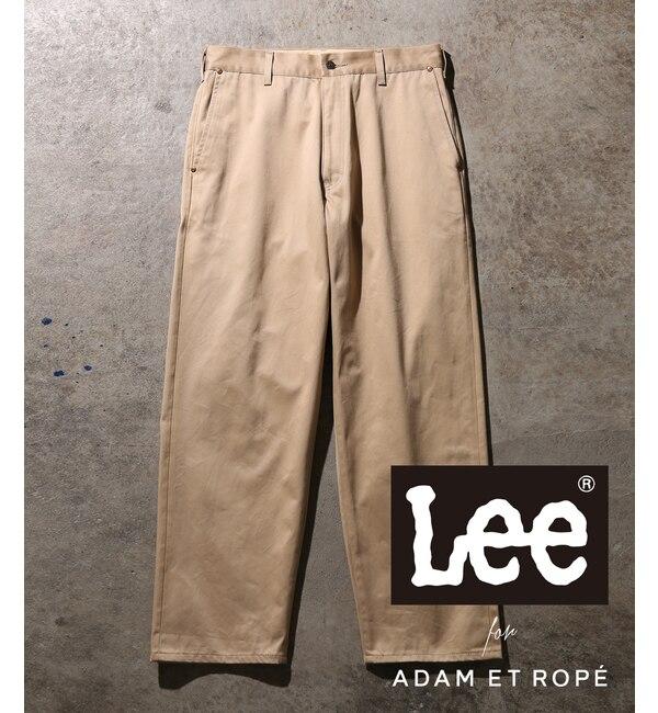 【アダム エ ロペ/ADAM ET ROPE'】 【Lee for ADAM ET ROPE'】セルビッチチノワイドパンツ
