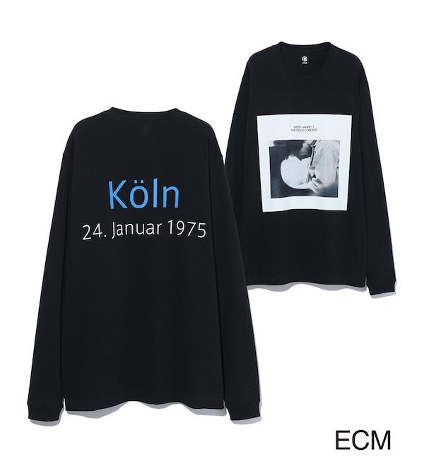 【アダム エ ロペ/ADAM ET ROPE'】 〈KEITH JARRETT〉LONG SLEEVE PHOTO T-shirt