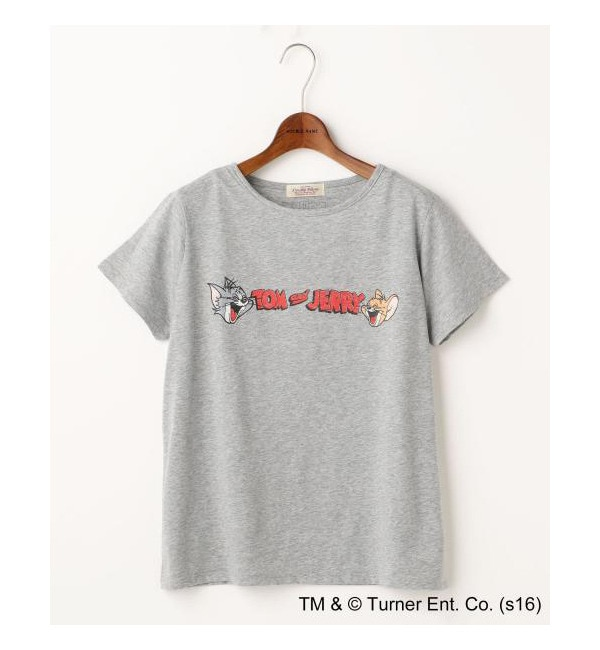 【ダブルネーム/DOUBLE NAME】 TOM&JERRYロゴTシャツ [送料無料]