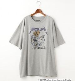 【ダブルネーム/DOUBLE NAME】 Double name別注METALLICA/ビッグTシャツワンピース [送料無料]