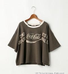 【ダブルネーム/DOUBLE NAME】 コカ・コーラ/リメイク風Tシャツ [送料無料]