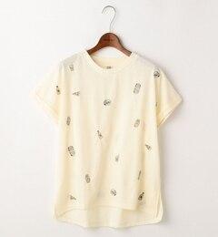 【ダブルネーム/DOUBLE NAME】 ジャンクフード刺繍Tシャツ [送料無料]