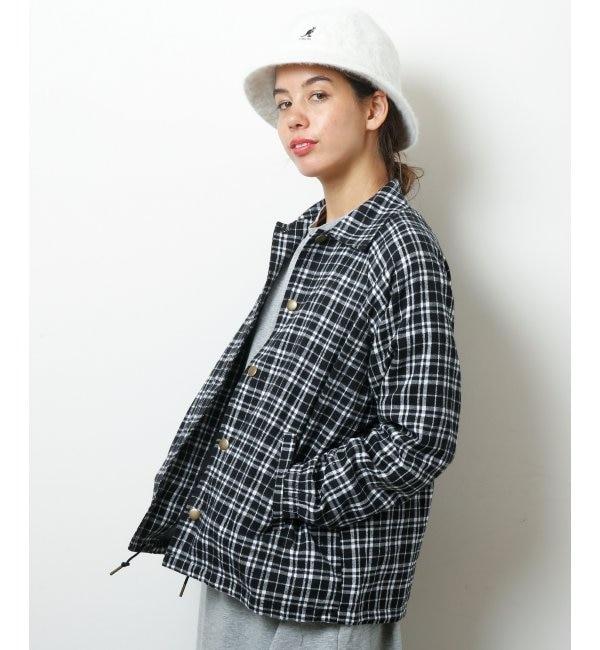 【ダブルネーム/DOUBLE NAME】 BACK刺繍コーチジャケット