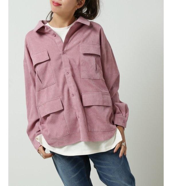 【ダブルネーム/DOUBLE NAME】 4つポケBIGシャツ