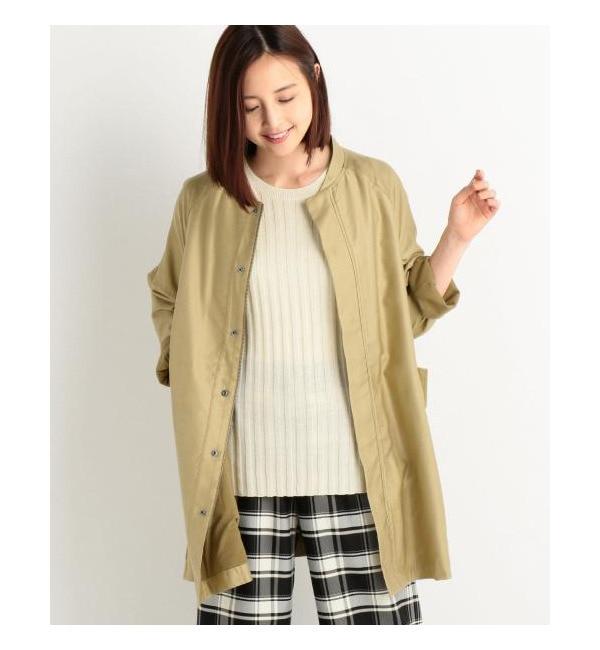 ミリタリーコート【ミューカ/mjuka ミリタリー・モッズコート】