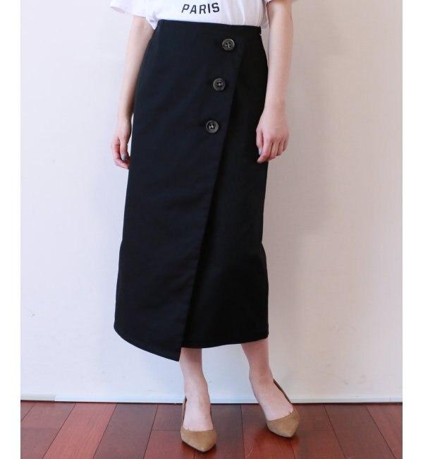 【ミューカ/MJUKA.】 アシメタイトスカート