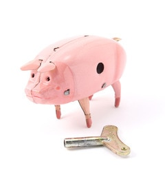 【ビショップ/Bshop】 【LABOUR AND WAIT】H301 POLLY PIG NAKED TIN [送料無料]