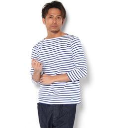 【ビショップ/Bshop】 【ORCIVAL(オーシバル)】7分袖ボートネックTシャツ [送料無料]
