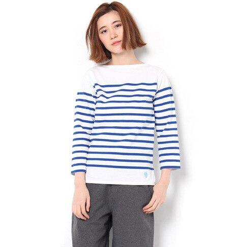 【ビショップ/Bshop】 【ORCIVAL(オーシバル)】ラッセル フレンチセーラーTシャツ [送料無料]