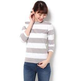 【ビショップ/Bshop】 【ORCIVAL】7分袖ボートネックTシャツ [送料無料]