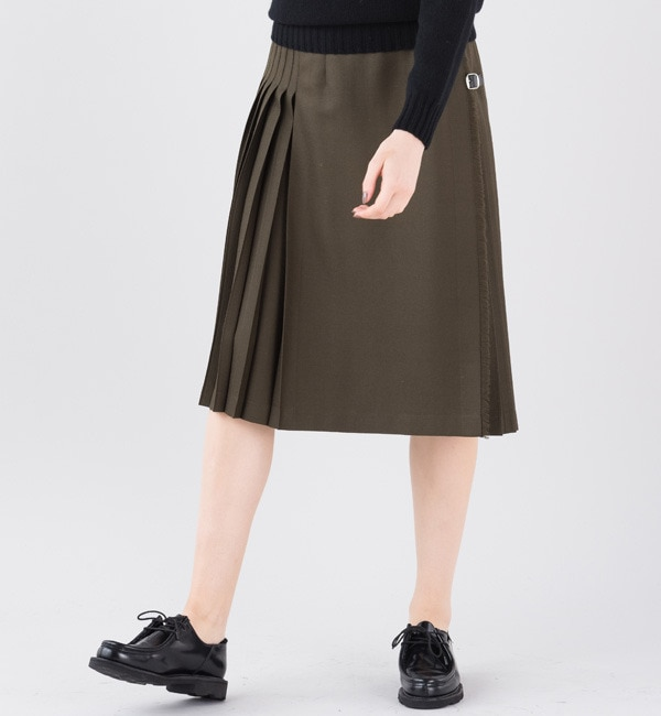 【ビショップ/Bshop】 【O'NEIL OF DUBLIN】アコーディオンキルトスカート [送料無料]
