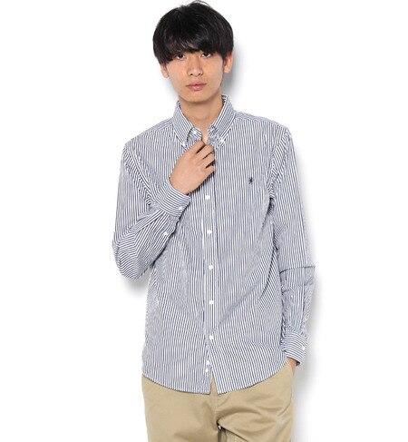 【ビショップ/Bshop】 【GYMPHLEX】長袖ボタンダウンシャツ [送料無料]
