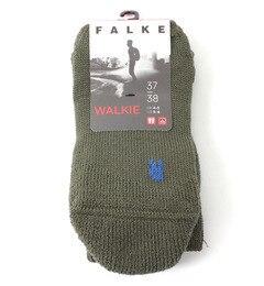 【FALKE】16480 WALKIE WOMEN【ビショップ/Bshop レディス ソックス OLIVE ルミネ LUMINE】