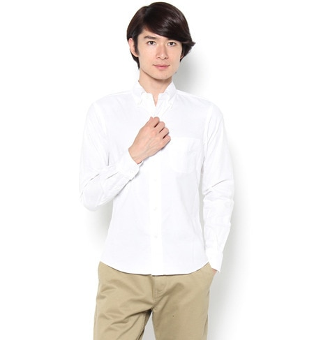【ビショップ/Bshop】 【Morris & Sons】長袖ボタンダウンシャツ [送料無料]