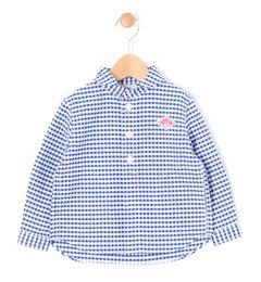 【ビショップ/Bshop】【DANTON】キッズ長袖丸襟シャツ[送料無料]