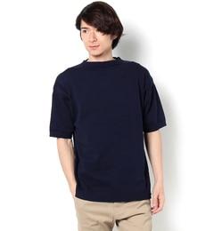 【ビショップ/Bshop】 【Le Tricoteur】ハーフスリーブコットンガンジーセーター [送料無料]